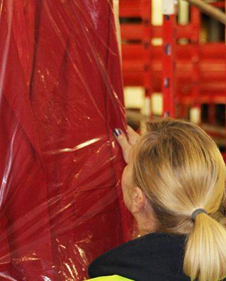 Logistică dedicată industriei textile